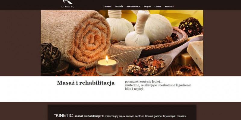 Kinetic – masaże i rehabilitacja