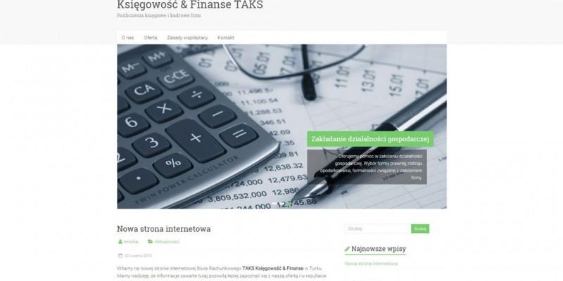 Taks – księgowość i finanse